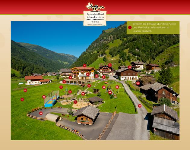 Bauernhof hotel oberkarteis familienhotel im gro arltal for Designhotel mit kindern